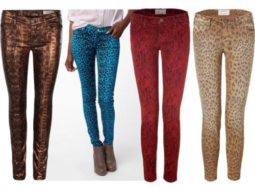 леопардовые штаны