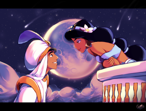 жасмин и алладин свидание