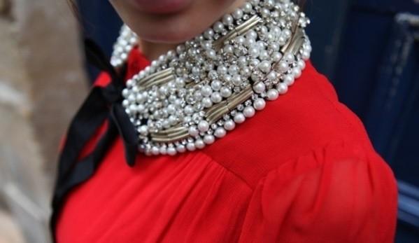 81 Воротник ожерелье своими руками видео