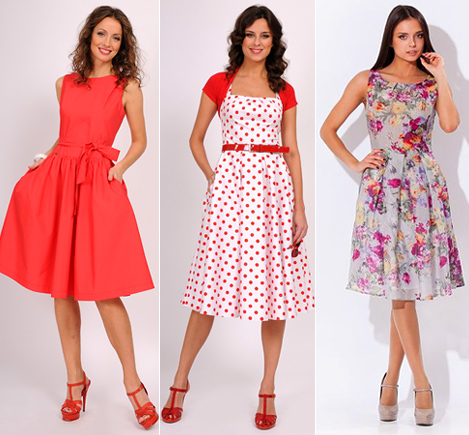 Фото женских платьев на лето