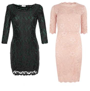 кружевные платья 2013