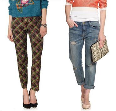 модные брюки осень