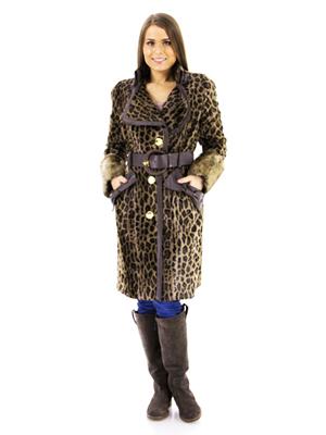тигровое пальто