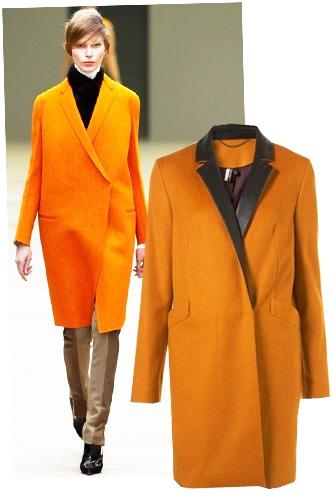 яркие пальто 2013