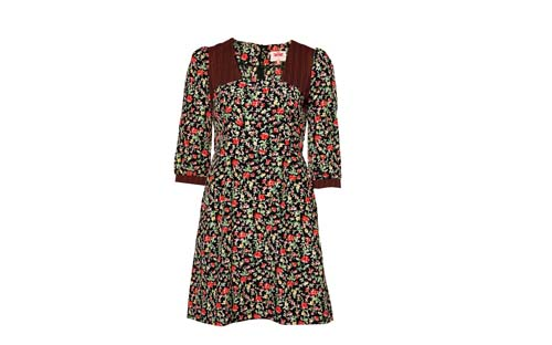 цветочное платье 2013