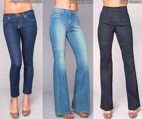 джинсы по фигуре