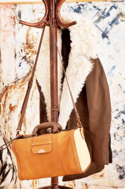 коричневая сумка 2013-2014