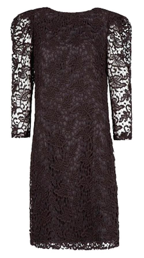 кружевное платье 2013-2014