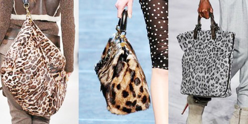 леопардовые сумки