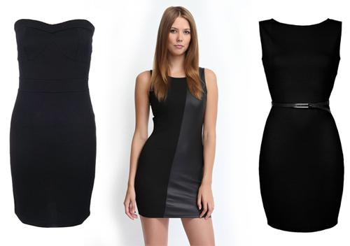 маленькое черное платье 2013