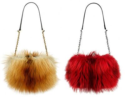 меховые сумки 2013-2014