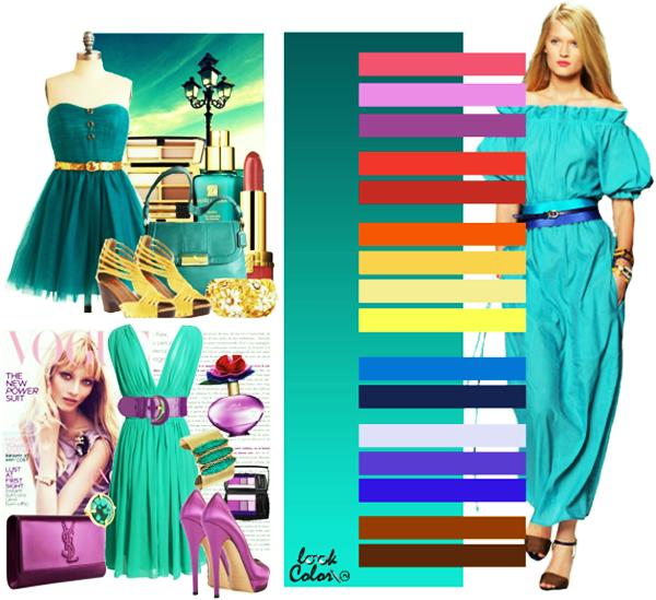 модные цвета изумрудный