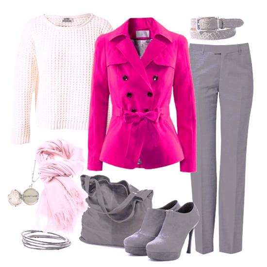 модные цвета карминно-розовый