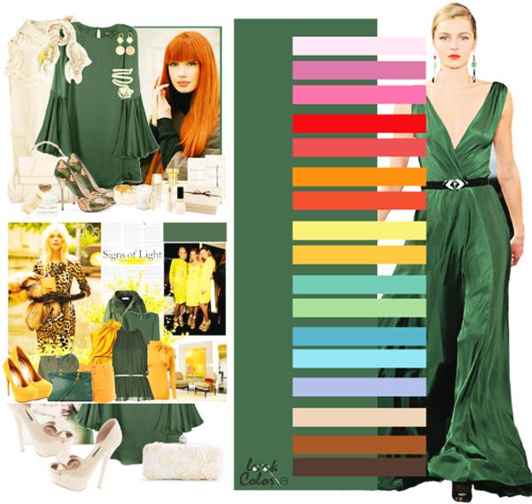 модные цвета липовый зеленый