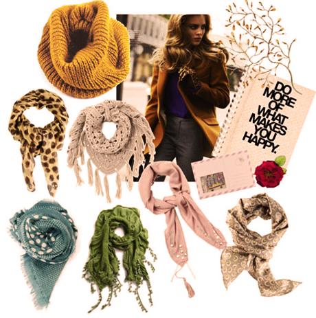 Модные шарфы 2013-2014