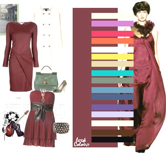 модные цвета виноградный
