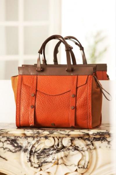 оранжевая сумка 2013-2014