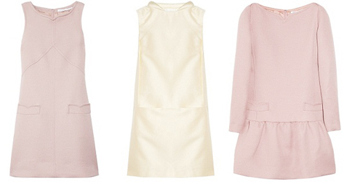 пастельных оттенков платья