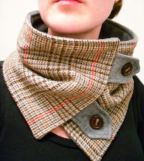 шарф-воротник 2013-2014