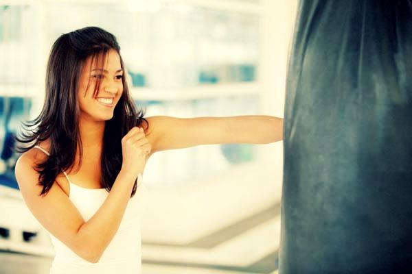 боксирование груши после расставания