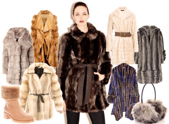Модные шубы 2013-2014