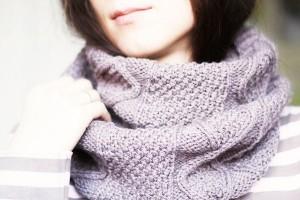 шарф-снуд зима
