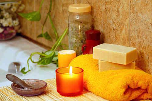 ванна с аромамаслами для настроения