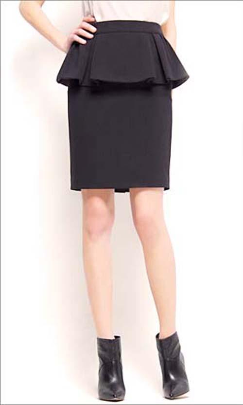 юбка пеплум 2013-2014