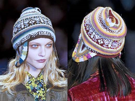 женская шапка-шлем