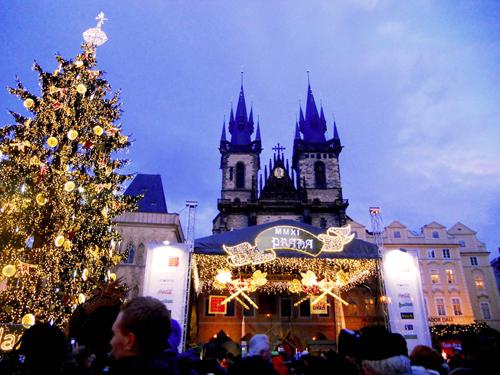 Новый год в Праге 2014