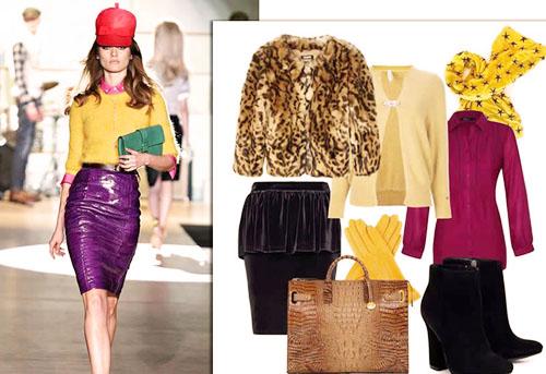 модная офисная одежда 2014