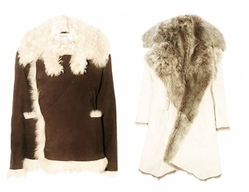 модные дубленки 2014