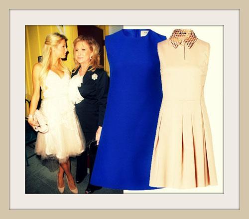 простое платье на Новый год 2014