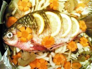 рыба обязательна в меню
