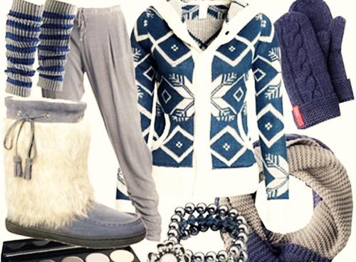спортивный стиль зима 2014