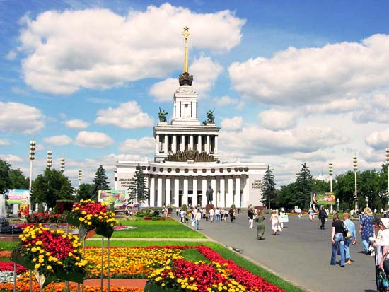 Интересные места москвы
