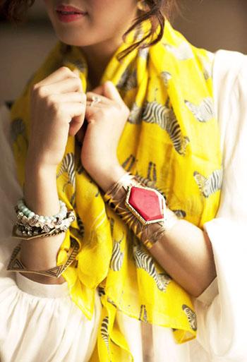 модные цвета платка 2014