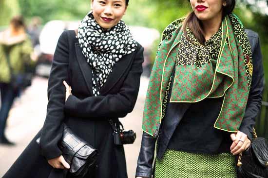 модные платки 2014