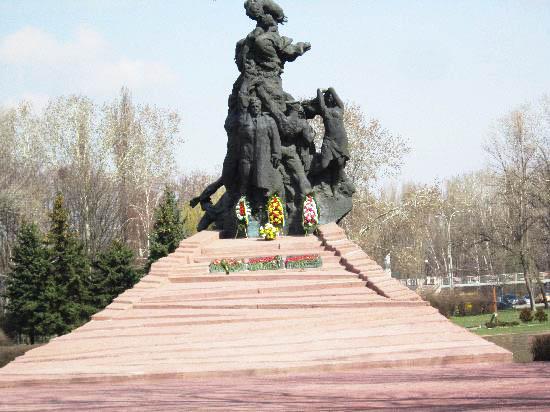 Бабий яр монумент