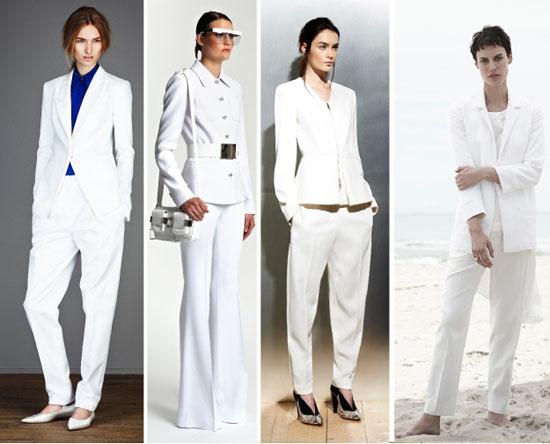 классический белый костюм 2014