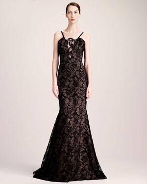 женственное вечернее платье 2014