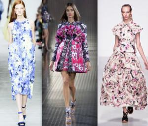 модный цветочный принт 2014