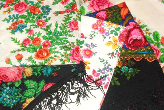 павлопосадские платки история культура мода