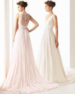 свадебное платье 2014 кружевная спина