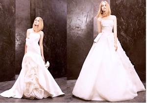 свадебное платье бюстье 2014