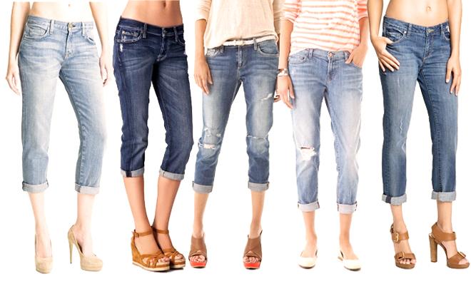 джинсы бойфренд цветовая гамма