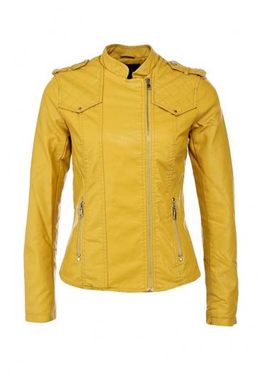 кожаные куртки весна 2014 без воротника