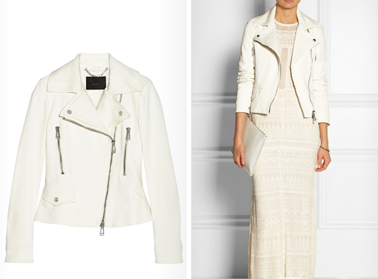 Кожаные куртки весна 2014 модные фасоны