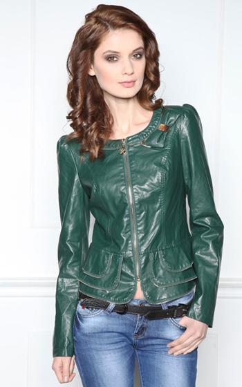 Кожаные куртки весна 2014 модные