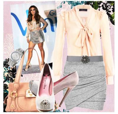 модная легкая блуза